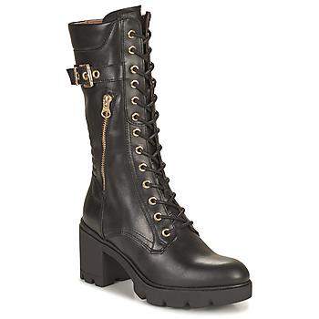 Schoenen Dames Hoge laarzen NeroGiardini CHAMPIGNO Zwart