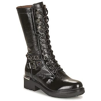 Schoenen Dames Hoge laarzen NeroGiardini COURGO Zwart