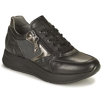 Schoenen Dames Lage sneakers NeroGiardini GIROMONO Zwart