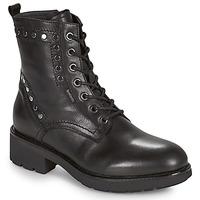 Schoenen Dames Laarzen NeroGiardini MANIOCO Zwart