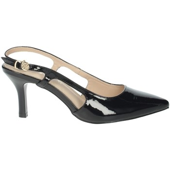 Schoenen Dames pumps Gold & Gold GD348 Black