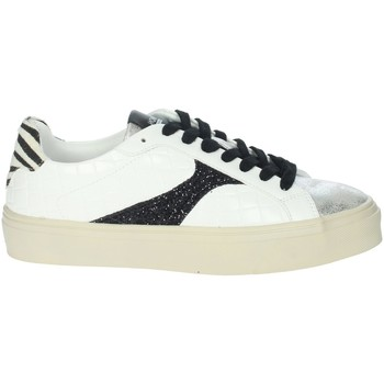 Schoenen Dames Lage sneakers Gold & Gold GB51 White/Black