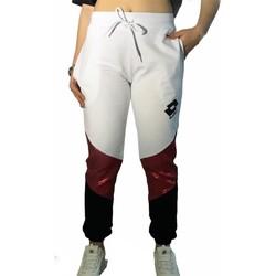 Textiel Dames Trainingsbroeken Lotto LTD447 White/Fuchsia