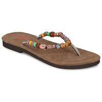 Schoenen Dames Slippers Banana Moon PERLA Multicolour
