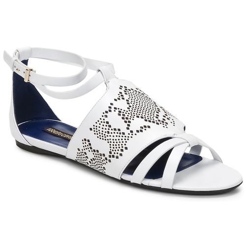 Schoenen Dames Sandalen / Open schoenen Roberto Cavalli TPS918 Wit