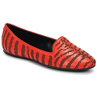 Schoenen Dames Mocassins Roberto Cavalli TPS648 Orange