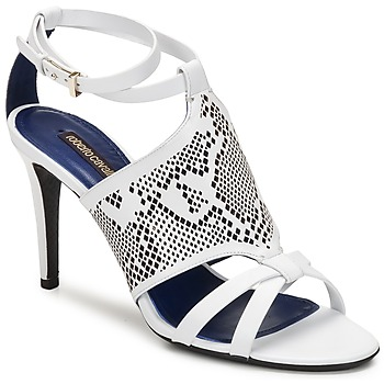 Schoenen Dames Sandalen / Open schoenen Roberto Cavalli TPS016 Wit