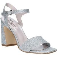Schoenen Dames Sandalen / Open schoenen Grace Shoes 2384002 Zilver