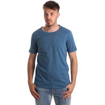 Textiel Heren T-shirts & Polo's Gaudi 911BU64027 Blauw