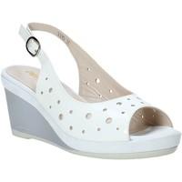 Schoenen Dames Sandalen / Open schoenen Melluso HR70521 Wit
