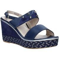 Schoenen Dames Sandalen / Open schoenen Melluso HR70814 Blauw