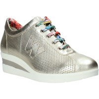 Schoenen Dames Lage sneakers Melluso HR20110 Goud