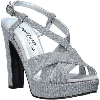 Schoenen Dames Sandalen / Open schoenen Melluso HJ440 Zilver