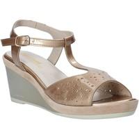 Schoenen Dames Sandalen / Open schoenen Melluso HR70520 Goud