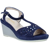 Schoenen Dames Sandalen / Open schoenen Melluso HR70511 Blauw
