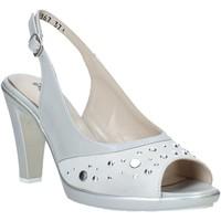 Schoenen Dames Sandalen / Open schoenen Melluso HR50131 Grijs