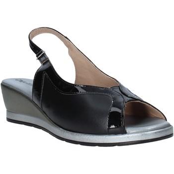 Schoenen Dames Sandalen / Open schoenen Melluso 037110X Zwart