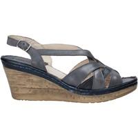 Schoenen Dames Sandalen / Open schoenen Melluso 019046Z Blauw