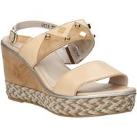 Schoenen Dames Sandalen / Open schoenen Melluso HR70814 Roze
