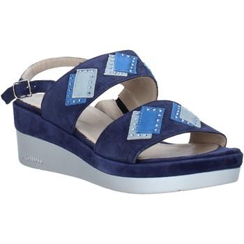 Schoenen Dames Sandalen / Open schoenen Melluso HR70717 Blauw
