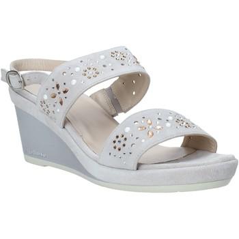 Schoenen Dames Sandalen / Open schoenen Melluso HR70512 Grijs