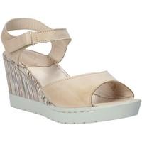 Schoenen Dames Sandalen / Open schoenen Melluso H019091 Beige