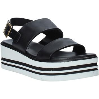 Schoenen Dames Sandalen / Open schoenen Melluso .09604X Zwart