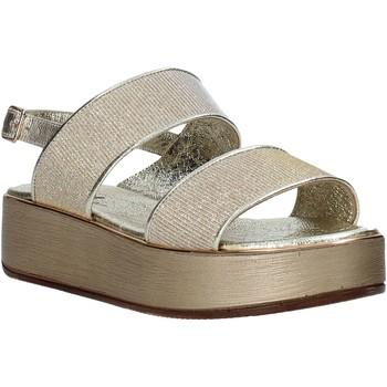 Schoenen Dames Sandalen / Open schoenen Melluso .09620X Goud
