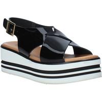 Schoenen Dames Sandalen / Open schoenen Melluso 09603X Zwart