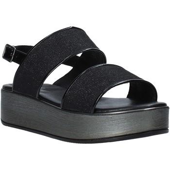 Schoenen Dames Sandalen / Open schoenen Melluso 09620X Zwart