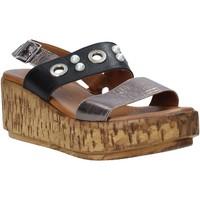 Schoenen Dames Sandalen / Open schoenen Melluso HK55056F Grijs