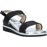 Schoenen Dames Sandalen / Open schoenen Melluso H037073 Zwart