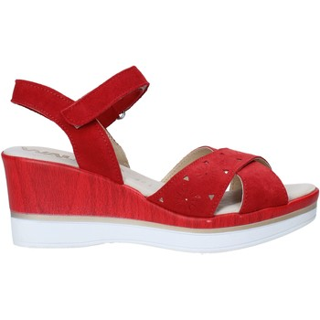 Schoenen Dames Sandalen / Open schoenen Melluso 037064F Rood
