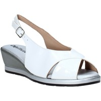 Schoenen Dames Sandalen / Open schoenen Melluso 037084X Wit