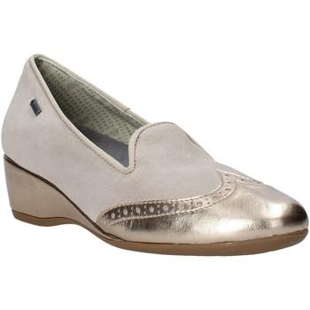 Schoenen Dames Mocassins Melluso H08121 Beige