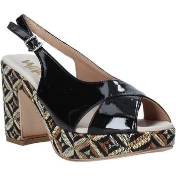 Schoenen Dames Sandalen / Open schoenen Melluso H037080 Zwart