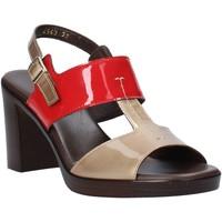 Schoenen Dames Sandalen / Open schoenen Melluso HR8540 Rood
