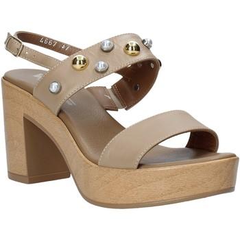 Schoenen Dames Sandalen / Open schoenen Melluso HR80107 Beige
