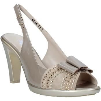 Schoenen Dames Sandalen / Open schoenen Melluso HR50124 Grijs