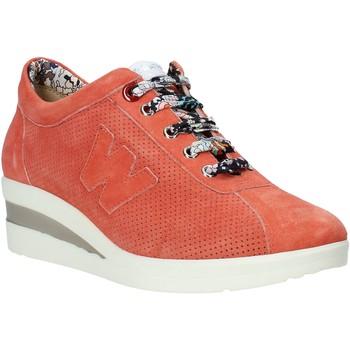 Schoenen Dames Lage sneakers Melluso HR20110 Oranje
