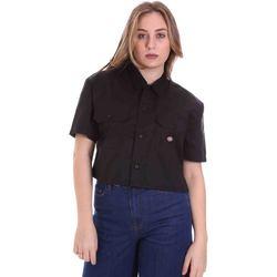 Textiel Dames Overhemden Dickies DK0A4XE1BLK1 Zwart