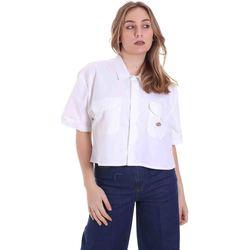 Textiel Dames Overhemden Dickies DK0A4XE1WHX1 Wit