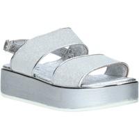Schoenen Dames Sandalen / Open schoenen Melluso 09620X Zilver