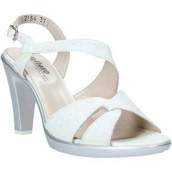 Schoenen Dames Sandalen / Open schoenen Melluso HR50138 Zilver
