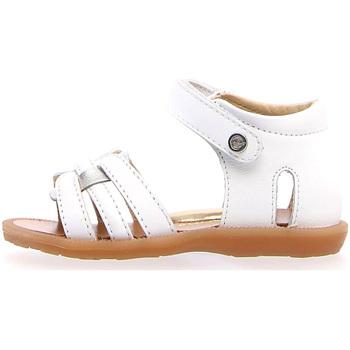 Schoenen Meisjes Sandalen / Open schoenen Naturino 502330 01 Wit