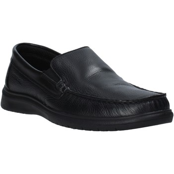 Schoenen Heren Mocassins Enval 7213000 Zwart
