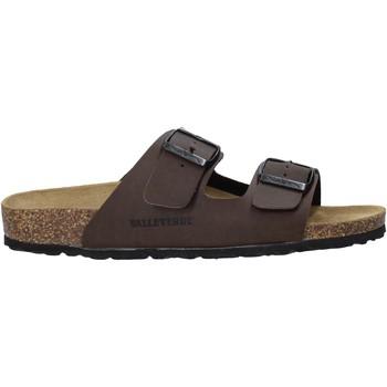 Schoenen Heren Leren slippers Valleverde G51800P Bruin