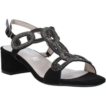 Schoenen Dames Sandalen / Open schoenen Valleverde 45140 Zwart
