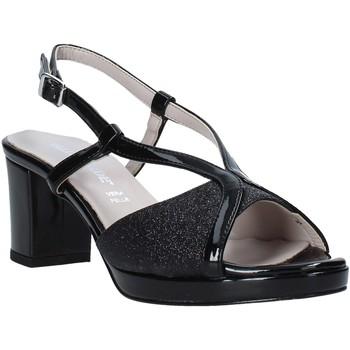 Schoenen Dames Sandalen / Open schoenen Valleverde 46373 Zwart