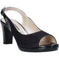 Schoenen Dames Sandalen / Open schoenen Valleverde 28340 Zwart